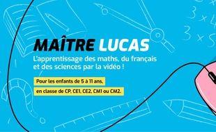 Le site maitrelucas.fr