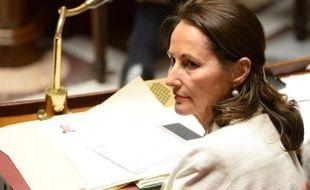 La ministre de l'Ecologie Ségolène Royal à l'Assemblée nationale, à Paris, le 16 décembre 2014