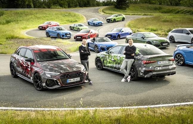Audi RS3 Teaser