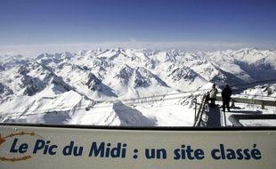 Le Pic du Midi. Illustration.
