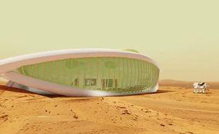 La première colonie de Mars pourrait ressembler à un village Schtroumpf