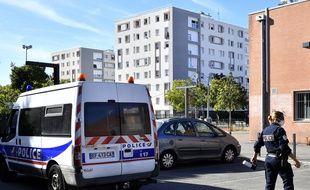 Lors d'une opération anti-stupéfiants début début septembre dans le quartier des Izards, à Toulouse.