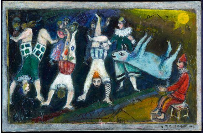 «Le cirque» de Marc Chagall.