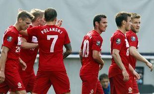 L'équipe de football de Pologne, à Klagenfurt en Autriche, le 26 mai 2012.