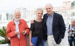 La fille de Stanley Kubrick, Katharina Kubrick (au centre), s'est confiée sur son réalisateur de père durant le Festival de Cannes 2018.