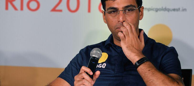 Le champion indien des échecs Viswanathan Anand.