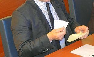 Patrick Vignal a voté blanc samedi.