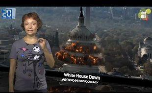 Caroline Vié présente sa chronique de cinéma sur le film «White House Down»