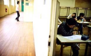 Dans un lycée d'Ile-de-France (photo d'illustration).