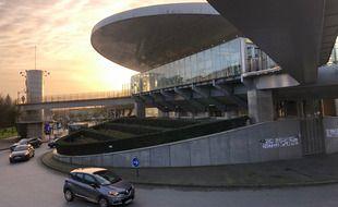 Le parc-relais de la Poterie, à Rennes, marquera-t-il l'entrée de la future zone à faibles émissions ?