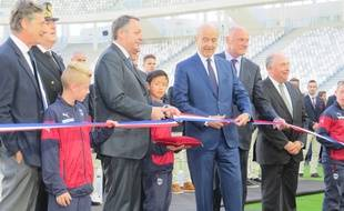 Inauguration officielle du Nouveau Stade de Bordeaux, le 18 mai 2015
