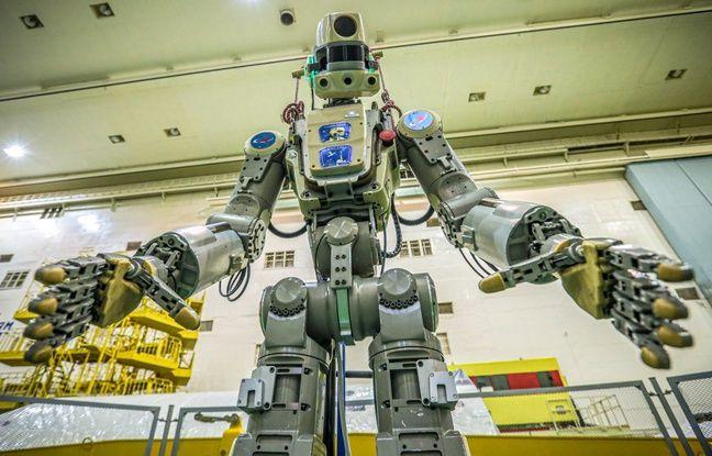 La Russie a lancé jeudi une fusée transportant Fiodor, son premier robot humanoïde, vers la Station spatiale internationale (ISS), pour un séjour test en vue d'utiliser de telles machines pour explorer l'espace lointain.