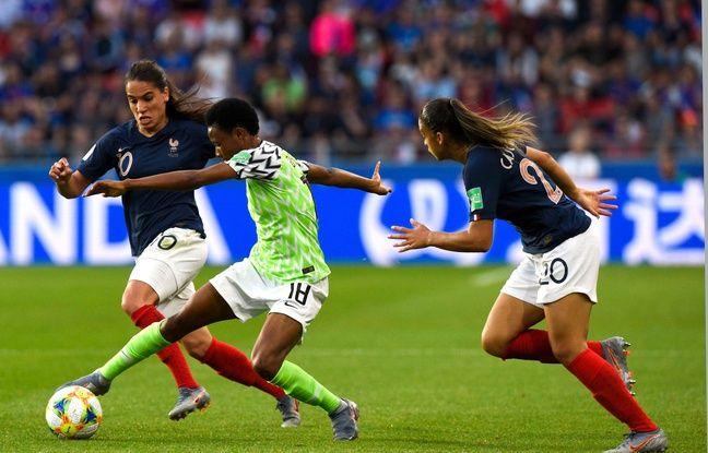 Equipe de France: Poussives puis volontaires, les Bleues battent le Nigeria et terminent leur poule avec trois victoires