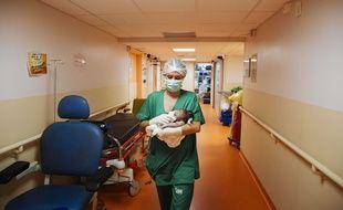 La fillette a été hospitalisée (photo d'illustration).