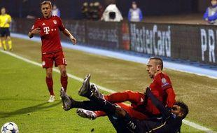 Franck Ribéry face au Dinamo Zagreb