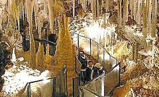 La grotte de Clamouse.