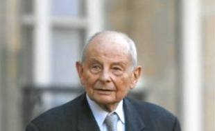 Jacques Servier, PDG du groupe.