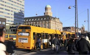 Un Bus à Copenhague, le 3 mars 2004