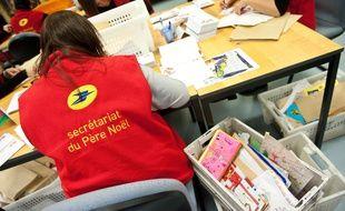 Le secretariat du Pere Noel a Libourne ou sont traites toutes les lettres adressees au Pere Noel par les enfants, par courrier postal ou par internet.  - Photo : Sebastien Ortola
