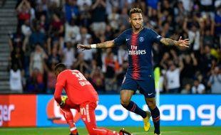 Neymar n'a pas tardé pour ouvrir son compteur buten Ligue 1 cette saison.