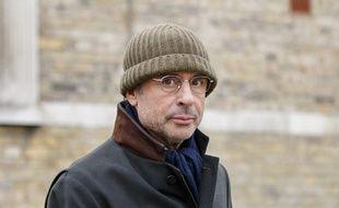 L'homme d'affaires français Alexandre Djouhri, à Londres, le 13 janvier 2018.