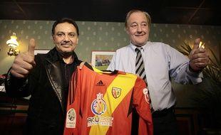 Hafiz Mammadov et Gervais Martel en novembre 2013