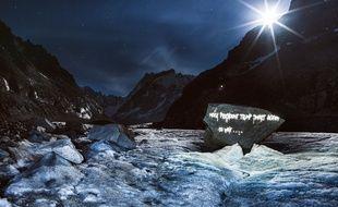 Une projection pour le projet Ice Scream