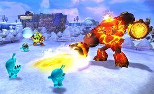 """""""Skylanders Giants"""", un jeu vidéo pour les enfants avec des figurines"""