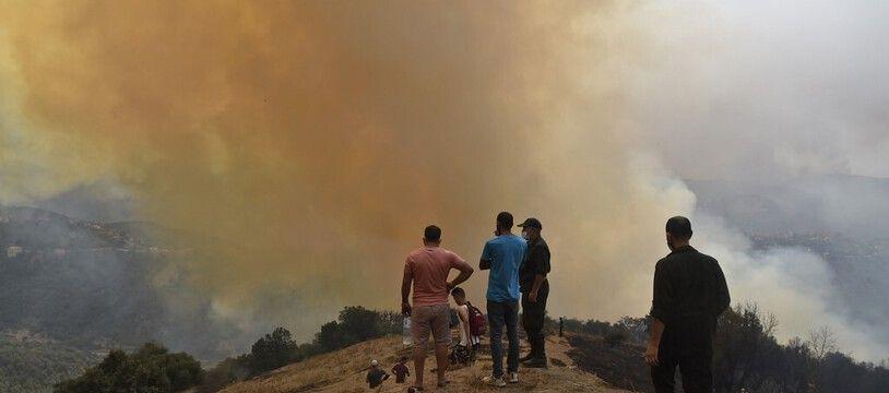Les incendie de ces derniers jours en Algérie ont fait au moins 75 morts.