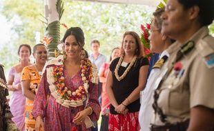 Meghan Markle a été exfiltrée d'un marché aux îles Fidji.