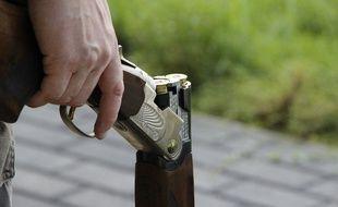 Un homme avec un fusil (Illustration)