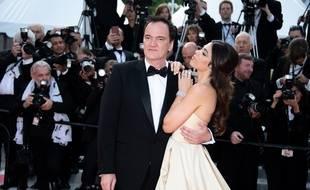 Le réalisateur Quentin Tarantino et son épouse, Daniela Pick, au 72e Festival de Cannes