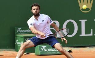 Gilles Simon a failli faire sentation face à Novak Djokovic