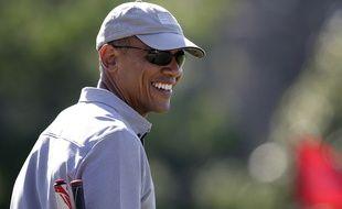 Barack Obama en vacances  Martha's Vineyard le 12 août 2015.