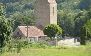 La chapelle du Burnkirch, à Illfurth, dans le Haut-Rhin.