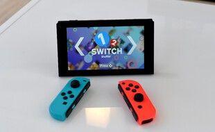 La Nintendo Switch lors de sa présentation en 2017.
