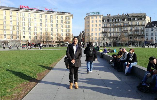Tunisien d'origine notamment kurde, Amir Fehri est arrivé en France et à Strasbourg en 2016.