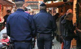 Nice: Un homme menaçant en garde à vue après l'évacuation temporaire du marché de Noël (Illustration)