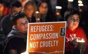 Manifestation d'Australien en faveur de l'accueil des réfugiés à Sydney, le 7 septembre 2015.