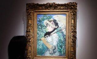 """""""Le Printemps"""" d'Edouard Manet exposé le 31 octobre 2014 chez Christie's à New York"""