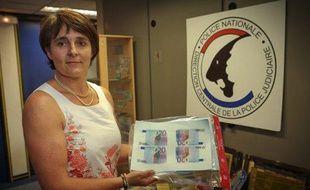 Corinne Bertoux, chef de l'Office central pour la répression du faux-monnayage à la direction centrale de la police judiciaire.