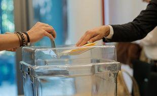 Un vote, illustration