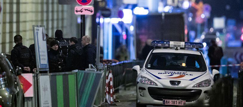 Des policiers à Paris, en janvier 2018. (illustration)
