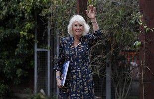 Camilla, le 12 mai, à Londres.