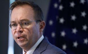 Mick Mulvaney a été nommé chef de cabinet par intérim de Donald Trump, le 14 décembre 2018.