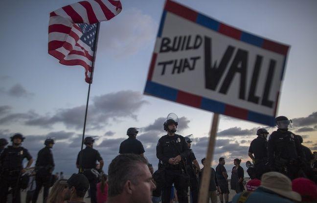 Etats-Unis: Des sites sacrés amérindiens détruits à l'explosif pour bâtir le mur avec le Mexique