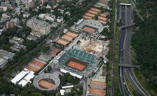 Le stade de Roland-Garros
