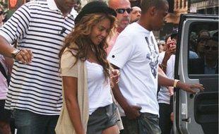 Beyoncé à Soho avec Jay-Z, 11 septembre 2010