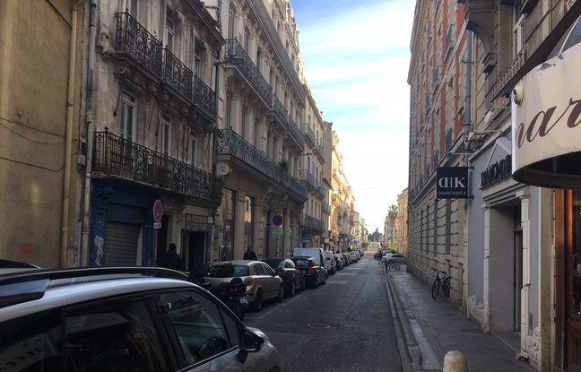 La rue de Verdun à Montpellier.