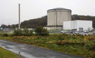 La centrale nucléaire de Brennilis, en Bretagne.